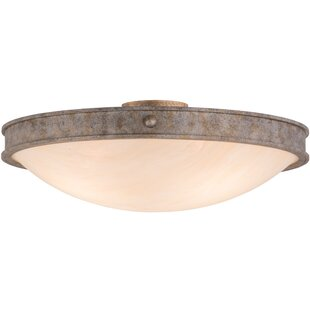 Meyda Tiffany Dionne 3-Light Flush Mount