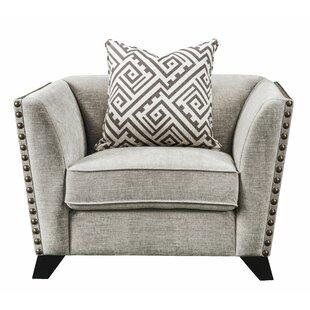 Canora Grey Arnette Chair w/1 Pillow