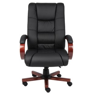 Compare prices Parkhurst Executive Chair by Symple Stuff Reviews (2019) & Buyer's Guide