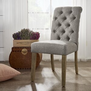 Awe Inspiring Lark Manor Pompon Tufted Side Chair Set Of 2 Pakwai Kangwai Andrewgaddart Wooden Chair Designs For Living Room Andrewgaddartcom