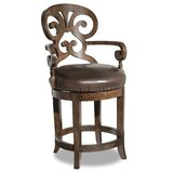 Jameson Swivel 24 Counter Stool by Hooker Furniture