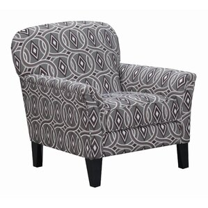 Simmons Upholstery Stirling Armchair by Red Barrel Studio