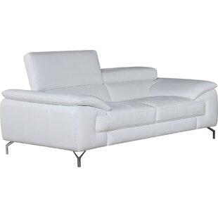 Colwyn Italian Leather Sofa by Wade Logan