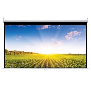 Matte White Manual Projector Screen