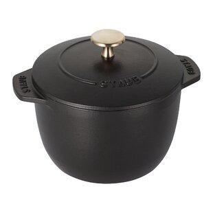 Staub Cast Iron 1.5 Qt. Round Dutch Oven