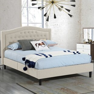 Mathew Queen Upholstered Platform Bed by Charlton Home