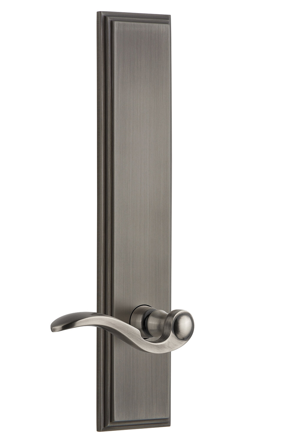 Grandeur Bellagio Privacy Door Lever With Carre Plate Wayfair