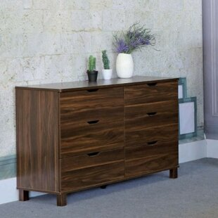 Read Reviews Marcus 6 Drawer Double Dresser by Ebern Designs