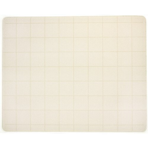 Vance 82016BW Vance 20 x 16 Black with White Border Surface Saver Tempered Glass Cutting Board
