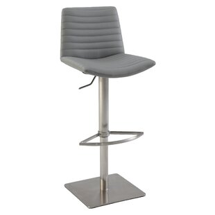 Adjustable Height Bar Stool by Chintaly Imports Great price