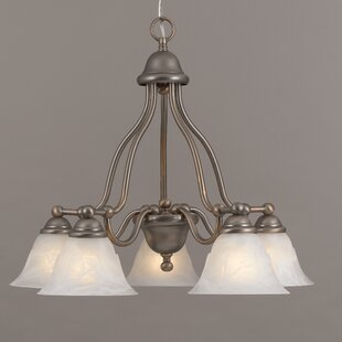 Classic Lighting Providence 5-Light Shaded Chandelier