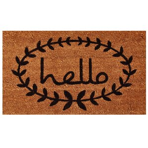 Attractive Sulema Hello Doormat