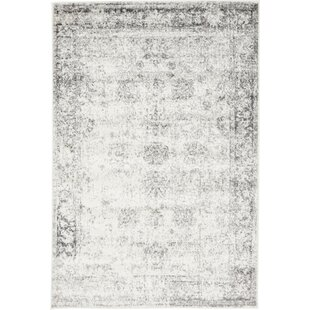 Best Reviews Brandt Gray Area Rug By Mistana