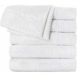 Darby Home Co Aaden 160 Thread Count Flat Sheet (Set of 6)