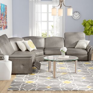 Buy luxury Weston Reclining Sectional by Latitude Run Reviews (2019) & Buyer's Guide