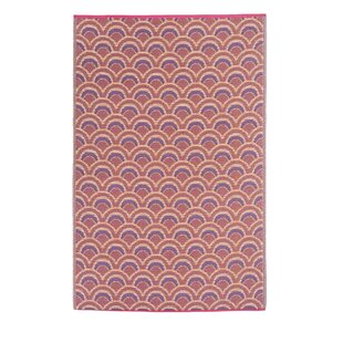 Best Reviews Pickett Orange/Violet Indoor/Outdoor Area Rug By Wrought Studio