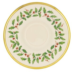 Great Price Holiday 6 Saucer (Set of 4) By Lenox