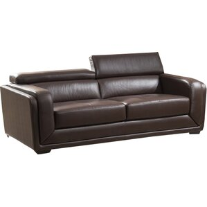 Calvin Leather Sofa by AC Pacific