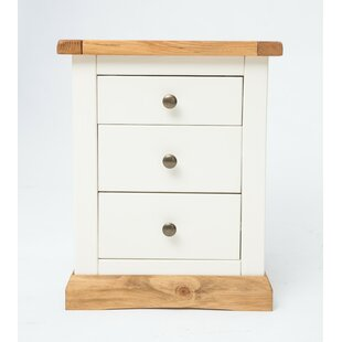 Childers 3 Drawer Bedside Table By August Grove