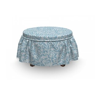 Nature Growth Ottoman Slipcover (Set Of 2) By East Urban Home