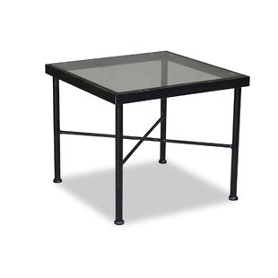 Provence Glass Side Table