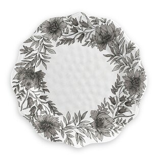 Farmhouse Botanical Melamine Dinner Plate (Set Of 4) By Tar Hong