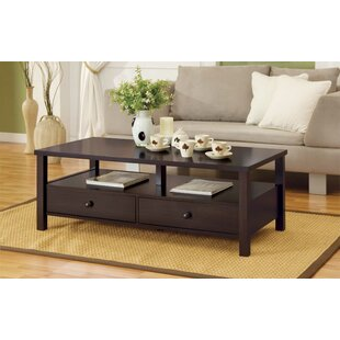 Fecteau Coffee Table with Storage