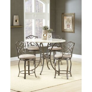 Treutlen 5 Piece Pub Table Set