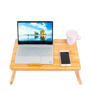 Stark Bamboo Laptop Tray by Latitude Run