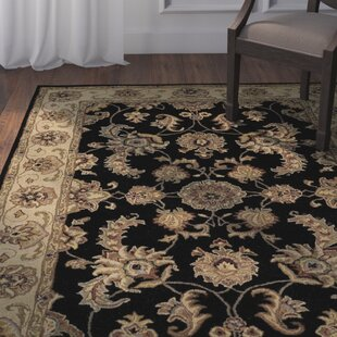 Best Standish Black Rug ByDarby Home Co