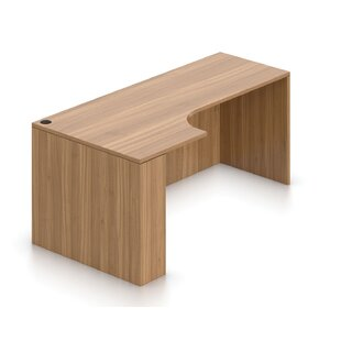 Superior L- Shape Credenza Desk