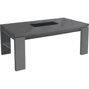 Minna Coffee Table With Magazine Rack By Ebern Designs