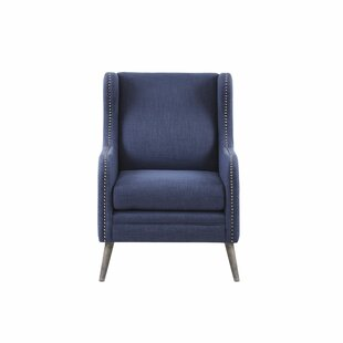 Slaugh Wingback Chair by Breakwater Bay