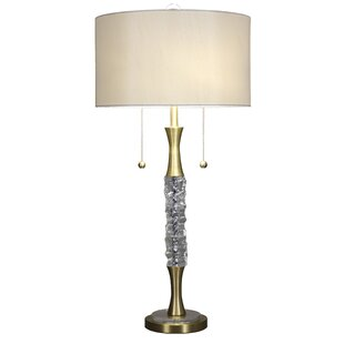 Crushed Ice 33.5 Buffet Lamp