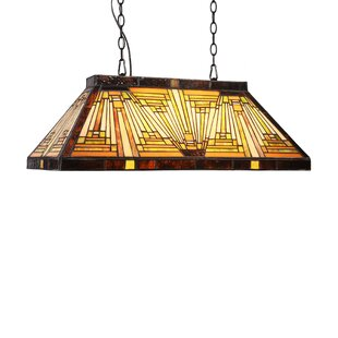 Fraire Mission 3-Light Pool Table Pendant by Loon Peak