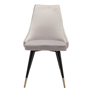 Everly Quinn Colchester Upholstered Dining Chair (Set of 2)