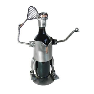 Tennis-Serve Caddy 1 Bottle Tabletop Wine..