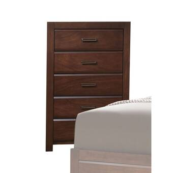 Astoria Grand Vallee 5 Drawer Chest Wayfair