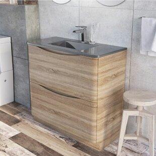 Harleigh 900mm Free-Standing Vanity Unit By Ebern Designs
