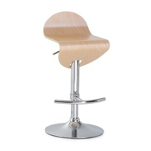 Lisa 80cm Height Adjustable Swivel Bar Stool By Metro Lane