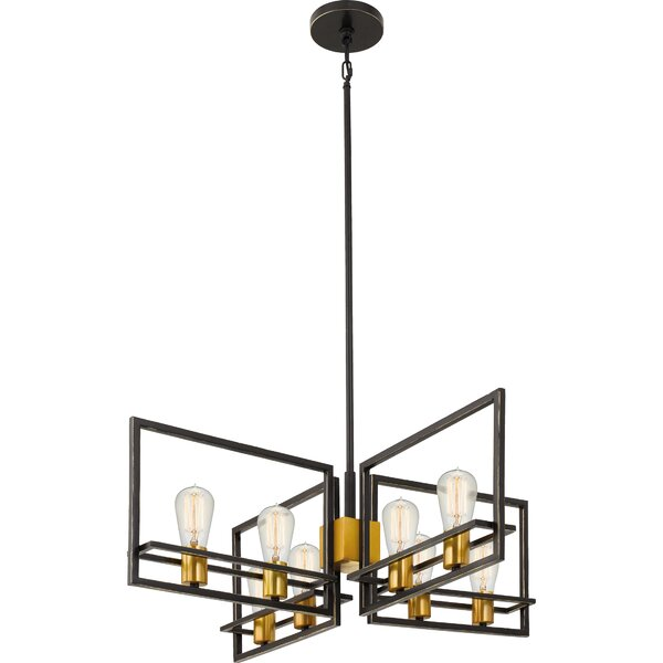 Theophania 8 Light Candle Style Geometric Chandelier Allmodern
