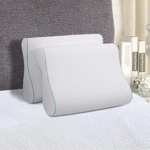 Grantec International Inc Comforest Contour Dual Sided Memory Foam Pillow (Set of 2)