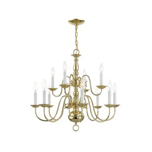 Allensby 12-Light Chandeli..