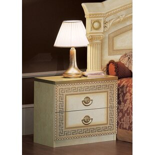 Stirling 2 Drawer Nightstand