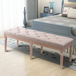 Hubbell Upholstered Bench
