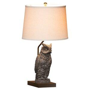 Owl table lamp wayfair owl 25 table lamp aloadofball Gallery