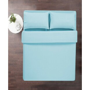 Lily Solid Color 100% Cotton Sheets Set