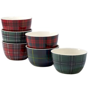 Sylvan 6 Piece 24 oz. Dessert Bowl Set