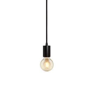 Bruck Lighting Gents 1-Light Bulb Pendant