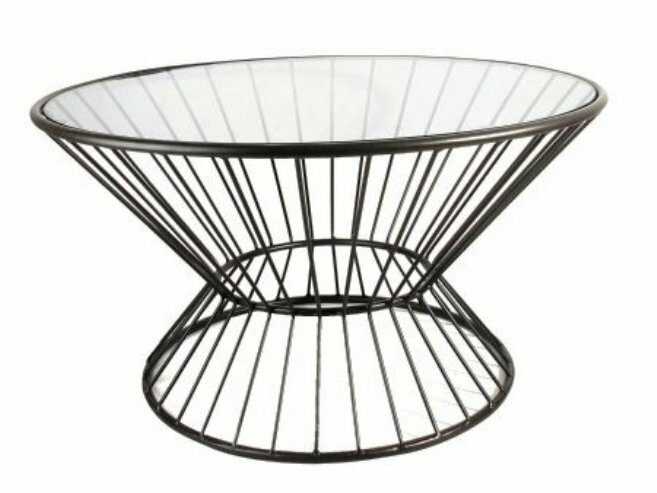 Fashion N You Wire Framed Coffee Table & Reviews | Wayfair